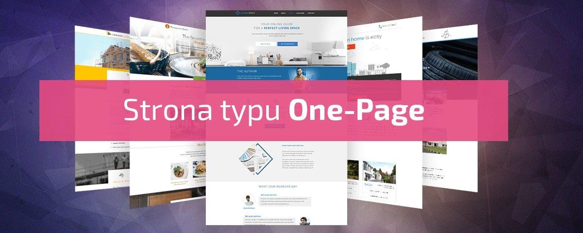 Strona typu One-Page