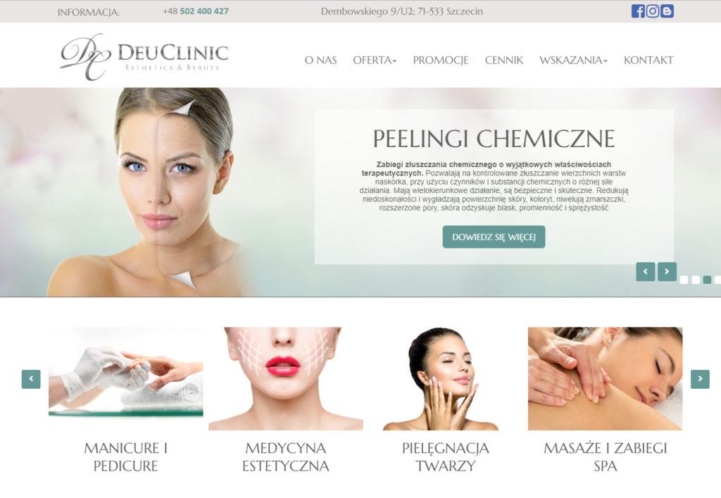 Strona www Deuclinic