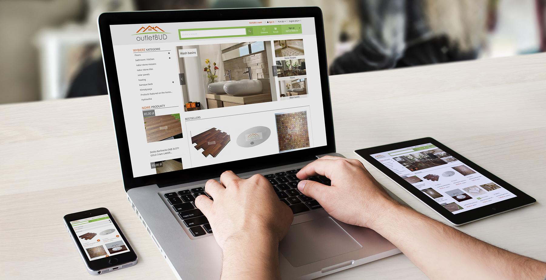 obsługa sklepu internetowego dla outletbud